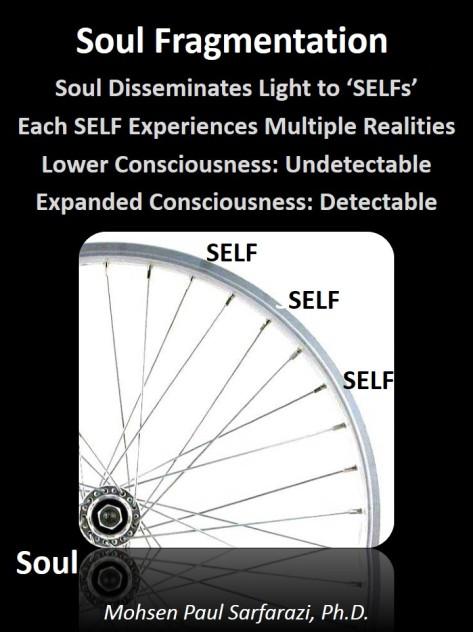 Fragmentation of Soul to Selfs